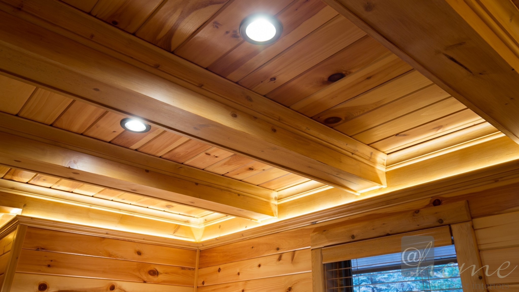 recessed lighting and indirect lighting