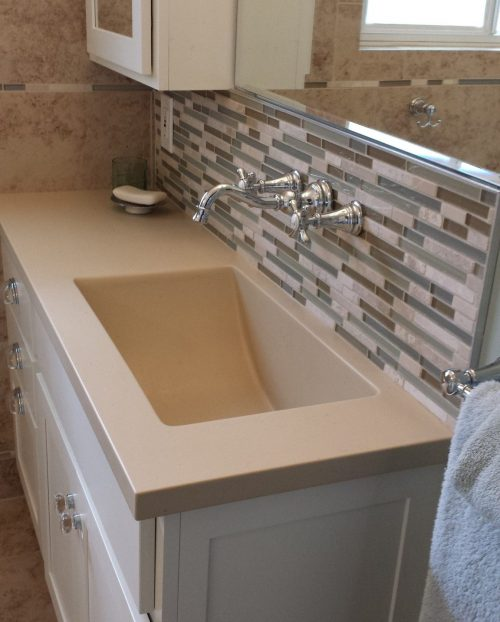 beautiful new sink area